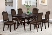 Johna 7pc Dining Table and Chair Set