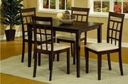 Karina 5pc Dining Table Set