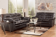 Knox Durablend Coffee Sofa and Loveseat