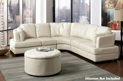 Landen Cream Sectional Sofa