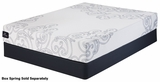 Leland White Fabric Queen Size Memory_Foam Mattress