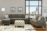 Lia Ash Sectional Sofa