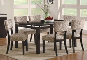 Libby Cappuccino Wood Dining Set