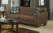 Lilian Brown Tweed Sofa