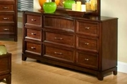 Loft Chocolate Wood Dresser
