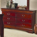 Louis Philippe Cherry Wood Dresser