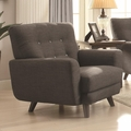 Maguire Grey Fabric Chair