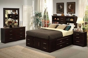Maxim Queen Bed, Dresser, Mirror, One Nightstand