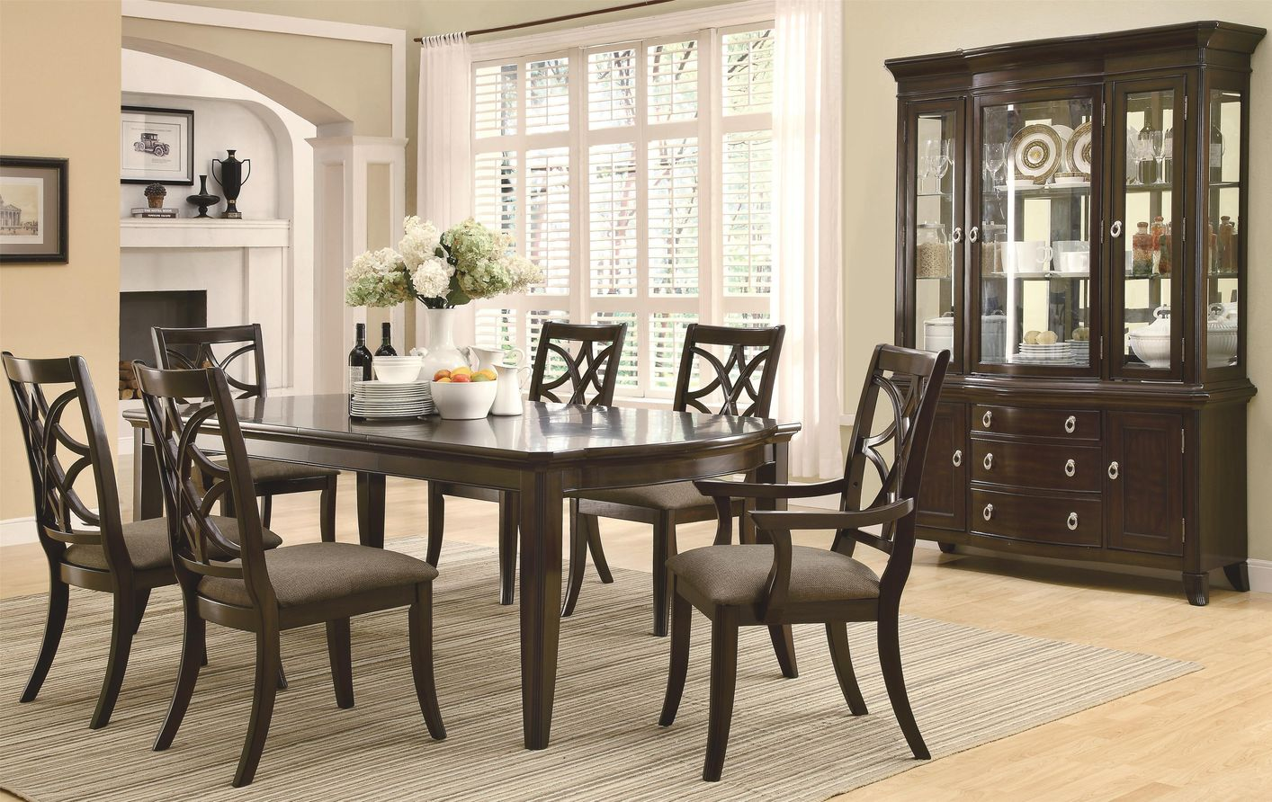 Coaster Meredith 103531 103532 103533 Brown Wood Dining