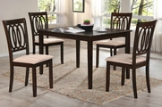Merlin 5pc Dining Table and Chair Set