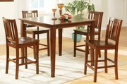 Merow 5Pc Pubtable And Chair Set