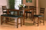 Midway 6pc Pub Dining Table Set