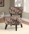 Bachman Brown Fabric Accent Chair