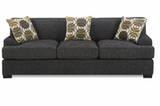 Montreal IV Grey Fabric Sofa