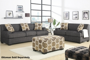 Montereal Ash Sofa and Loveseat Set