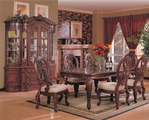 Nottingham Brown Cherry Wood Dining Table