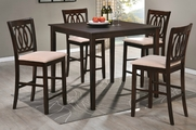 Odilia 5pc PubTable and Chair Set