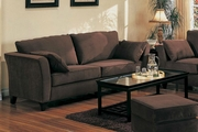 Park Place Chocolate Microfiber Sofa