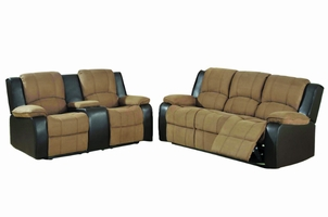 Peter Reclining Sofa and Loveseat