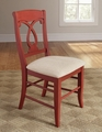 Red Fabric Dining Chair