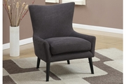 Remus Grey Fabric Accent Chair