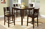 Rocks 5Pc Pubtable And Chair Set