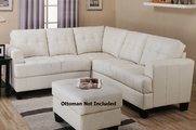 Samuel Cream Sectional Sofa
