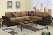 Playa Saddle Fabric Sectional Sofa