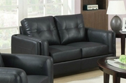 Sawyer Black Loveseat
