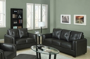Sawyer Charcoal Sofa and Loveseat Set