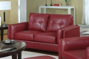 Sawyer Red Loveseat