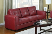 Sawyer Red Sofa