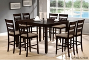 Seville 7pc Pub Table And Chair Set