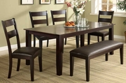 Skyline 6pc Dining Table and Chair Set