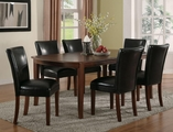 Soho Cherry Wood Dining Table Set