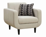 Stansall Beige Fabric Chair