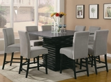 Stanton Black And Gray Wood Pub Table Set