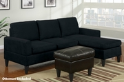 Stella Reversible Sectional Sofa with Ottoman