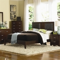 Tiffany Cherry Wood Eastern King Bed