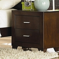 Tiffany Cherry Wood Nightstand