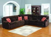 Tracy Recliner Sleeper Sectional