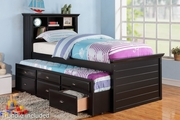 Sabeen Twin Bed With Trundle