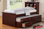Earvin Twin Bed With Trundle