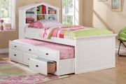Taijo Twin Bed With Trundle