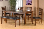 Utopia 6pc Dining Table and Chair Set