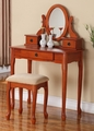 Safa Vanity With Stool
