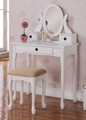 Yancy Vanity With Stool