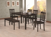 Venice Cappuccino Wood Dining Table