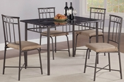 Vienna 5pc Dining Table and Chair Set