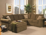 Westwood Sage Fabric Sectional Sofa